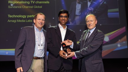 Amagi's-leadership-receives-the-Innovation-Award-for-Content-Delivery-at-IBC-2015